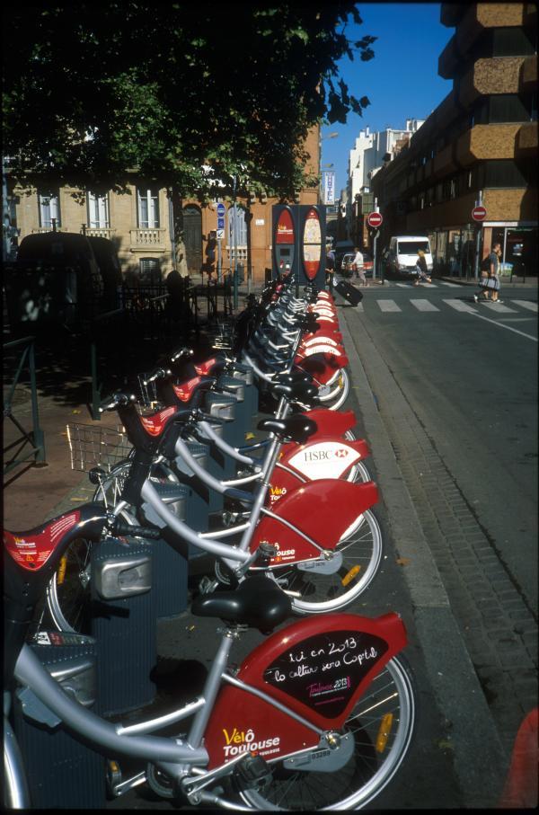 Vélô'Toulouse.